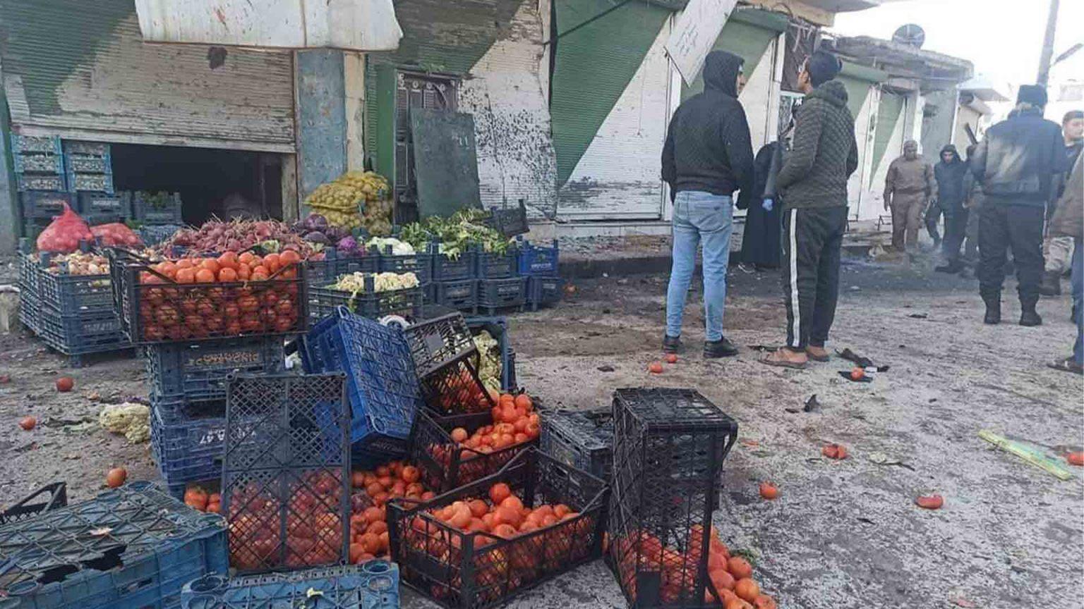 叙利亚北部发生自杀式炸弹袭击事件 致1死4伤