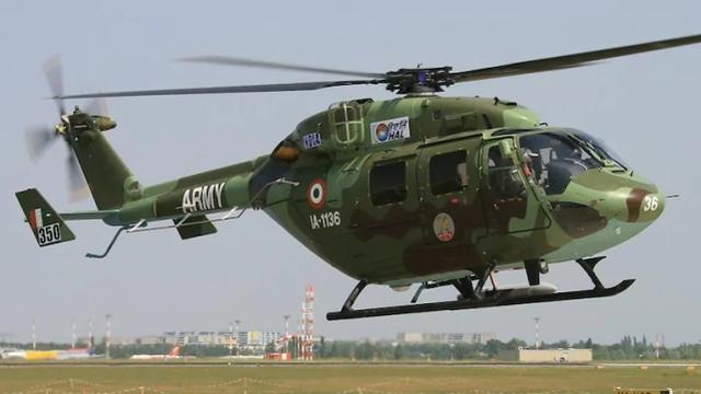 又又又坠机了,印军直升机在克什米尔坠毁,1名飞行员死亡