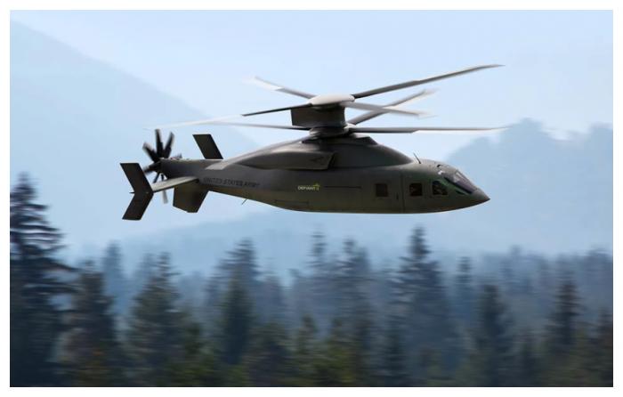洛克希德-马丁和波音首度公开Defiant X先进突击直升机