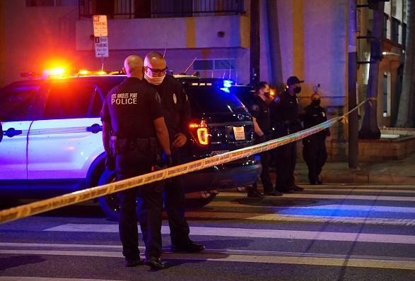 美国洛杉矶2020年犯罪报告显示该市凶杀暴力犯罪激增