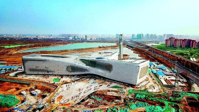 """省科技馆新馆开馆""""倒计时"""" 国内在建最大规模 设置宇宙天文、动物家园、智慧人类、交通天地、人工智能等8个常设展厅"""