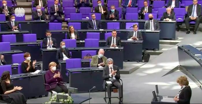 """德国联邦议院举办活动纪念""""国际大屠杀纪念日"""""""