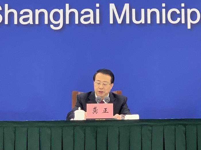龚正:去年上半年上海在全球金融中心指数排名位列第四 超新加坡