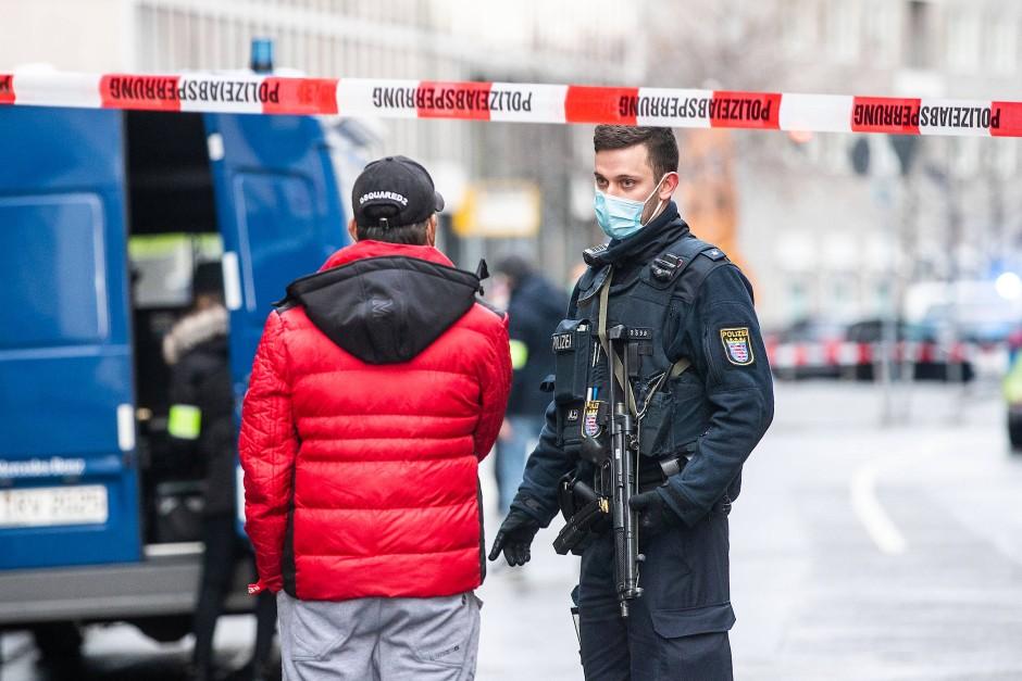 德国法兰克福突发伤人案 4人受伤
