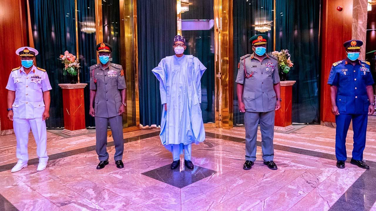 尼日利亚总统布哈里更换4名武装部队负责人