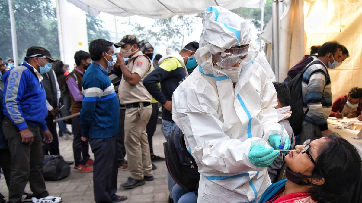 印度新增9例变异新冠病毒感染病例 累计确诊达38例