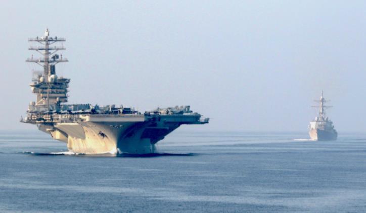 美军突然改变决定:准备回国的航母 继续留在中东