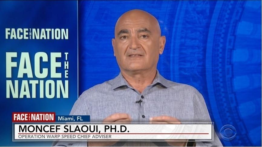 斯拉維接受CBS采訪