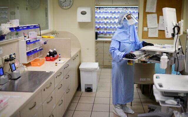 以色列新增9299例新冠肺炎确诊病例 累计达455144例