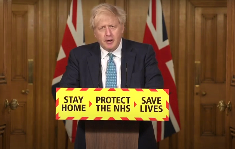 英首相称加紧为四类优先人群接种疫苗