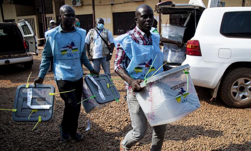 联合国及合作伙伴敦促各方尊重中非共和国的选举结果