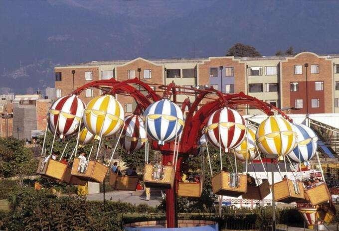 哥伦比亚约30%游乐园在疫情期间倒闭