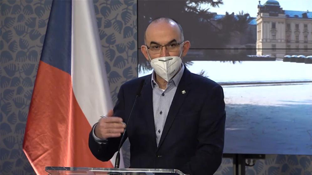 捷克卫生部长:延长新冠疫情防疫措施至1月22日