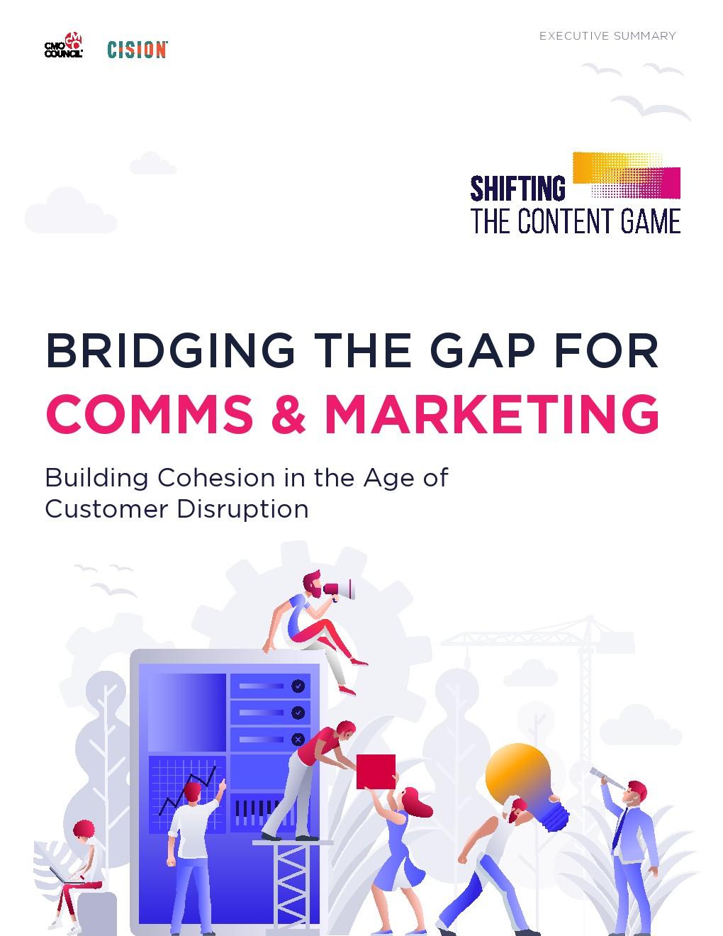 CISION报告:缩小沟通和营销差距