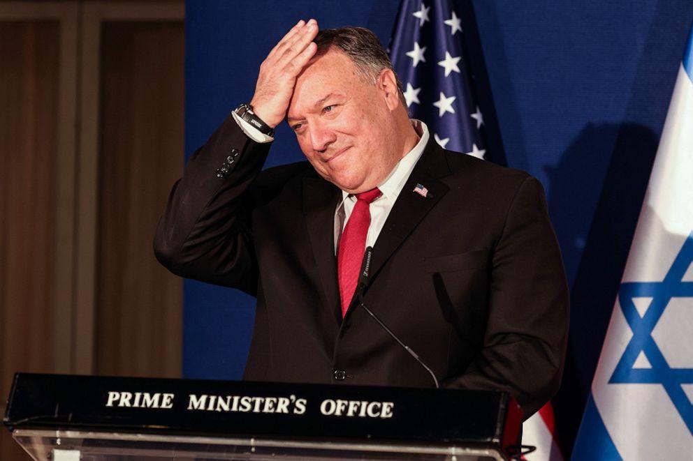 """蓬佩奥改口了 首次称拜登为""""美国当选总统"""""""