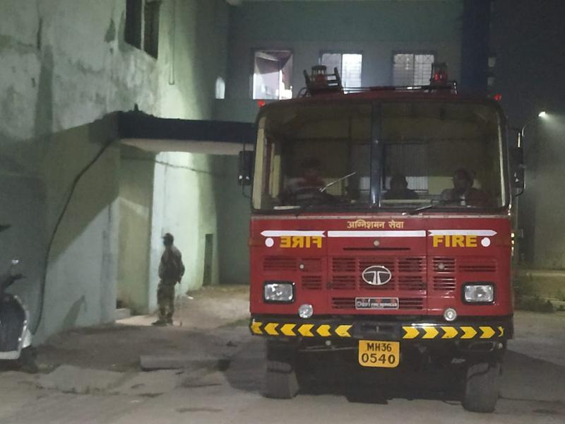 印度西部一医院发生火灾 致10名婴儿身亡