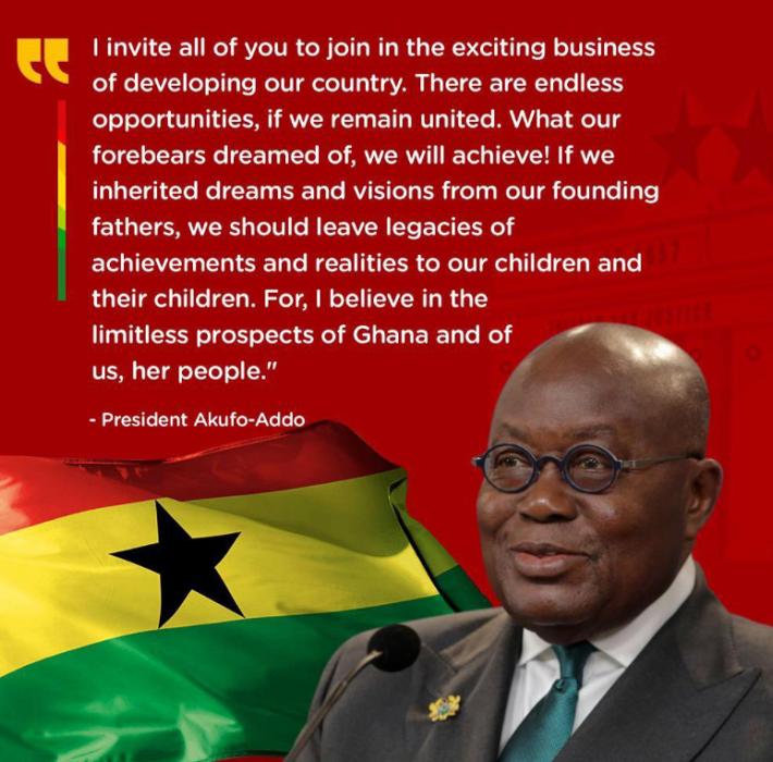 加纳总统阿库福-阿多7日宣誓就职