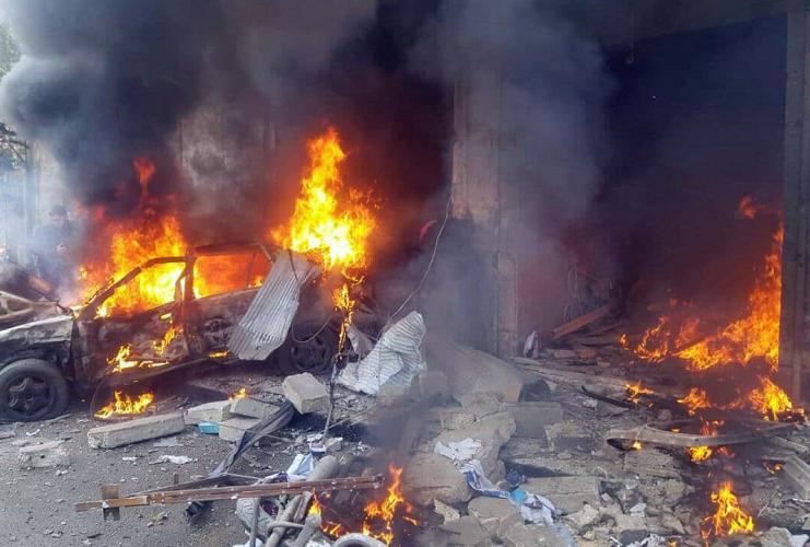 叙利亚北部发生两起汽车炸弹袭击事件致多人伤亡