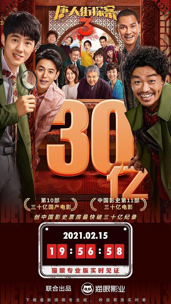 3 唐人街 探 案 妻夫木聡や長澤まさみ出演の「唐人街探案3」中国で公開初日に興収170億円超