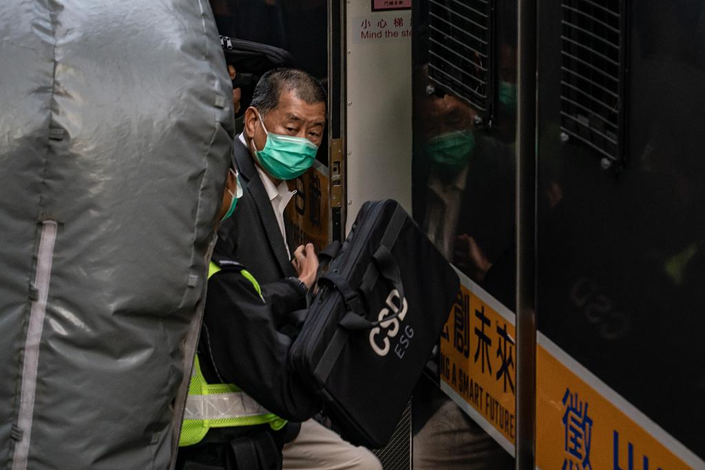 黎智英将再申请保释 由香港国安法案件指定法官处理
