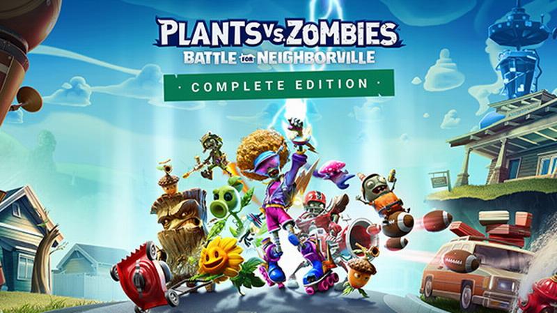《植物大战僵尸:和睦小镇保卫战完整版》3月19日登陆NS