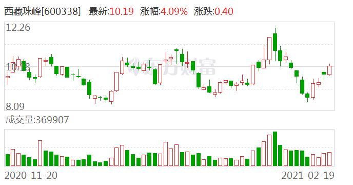 西藏珠峰:西藏信托-鼎证48号集合资金信托计划拟减持不超4895.15万股