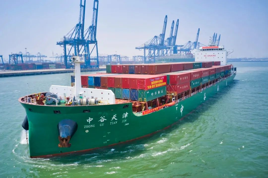 中谷物流18艘新船订单花落扬子江船业及金陵船厂丨航运界