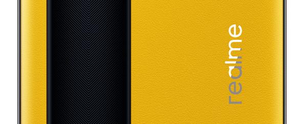 realme GT大黄蜂设计版曝光 黄色素皮+黑色赛道纹
