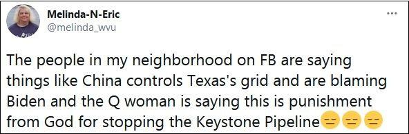 美国得克萨斯州停电 竟也能赖上中国?