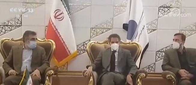 国际原子能机构总干事格罗西抵达伊朗