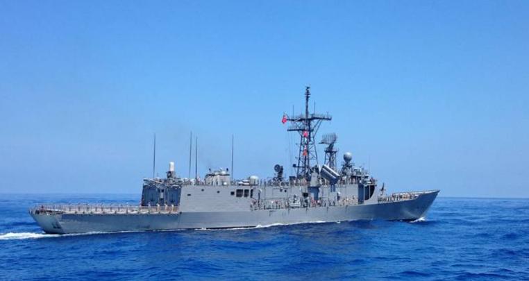 台军舰被曝缺热像仪误把商船当大陆军舰 台海军:纯属臆测图片