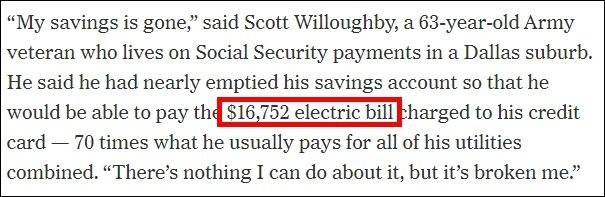 天价电费谁买单?美国休斯敦市长喊话州政府掏钱
