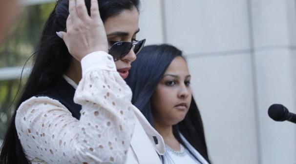 墨西哥大毒枭古兹曼之妻因涉嫌贩毒在美国被捕