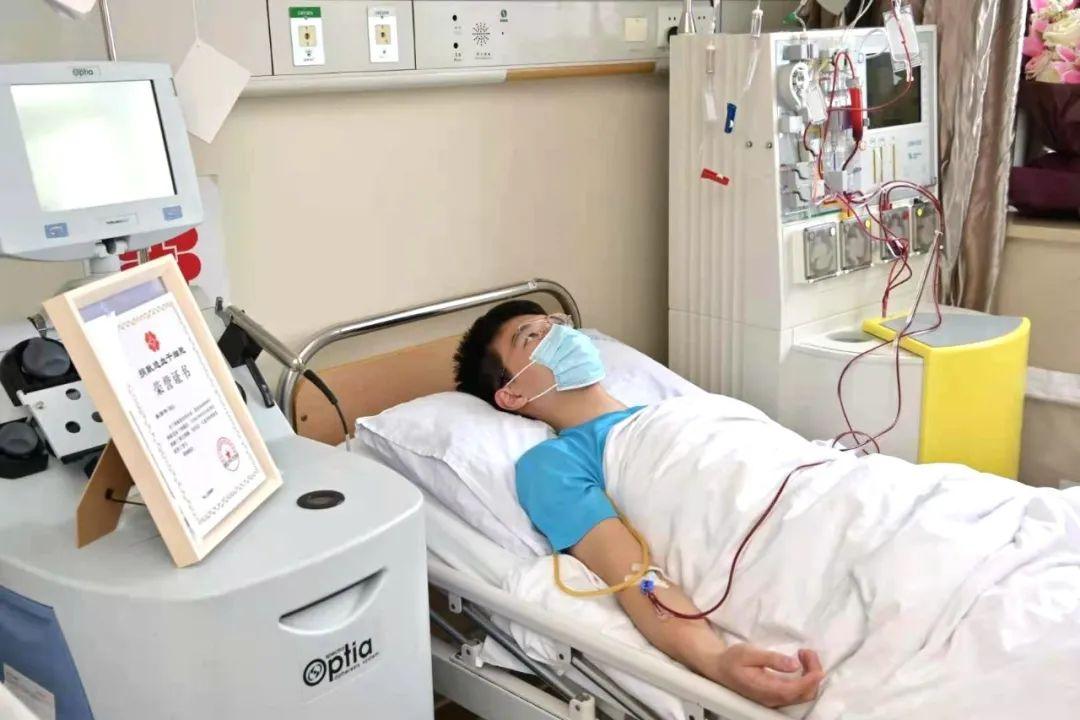 先捐造血干细胞再捐淋巴细胞 温医大学子陈泽伟两次出手救陌生人图片