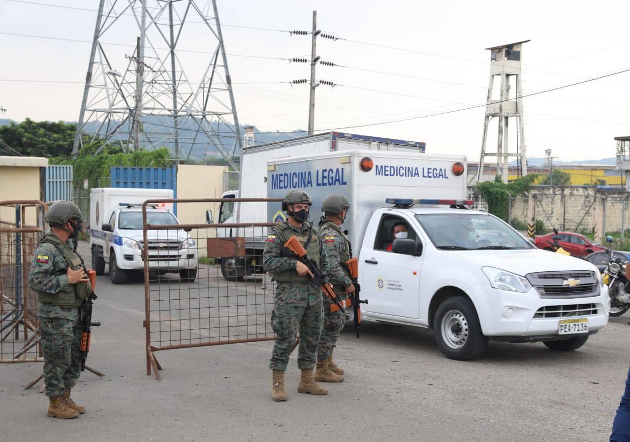厄瓜多尔3所监狱发生骚乱 已致62人死亡