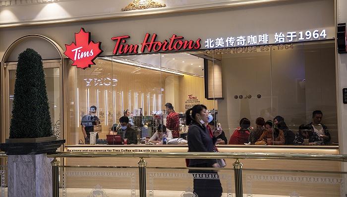 Tim Hortons中国加速开店,称咖啡在一线城市已成刚需