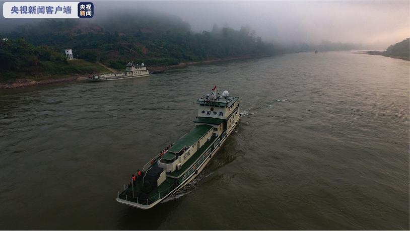 中老缅泰第102次湄公河联合巡逻执法行动圆满完成图片