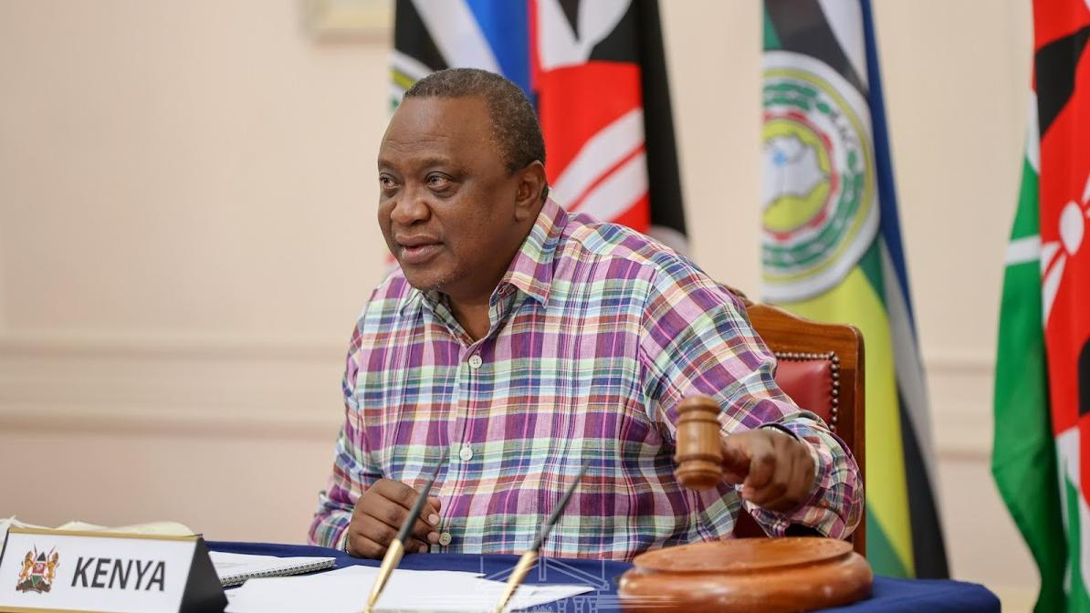 肯尼亚总统当选东非共同体新任轮值主席