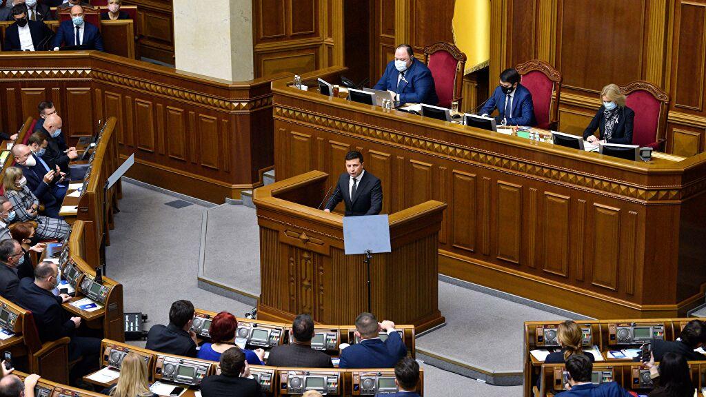 乌克兰反对党计划弹劾总统泽连斯基