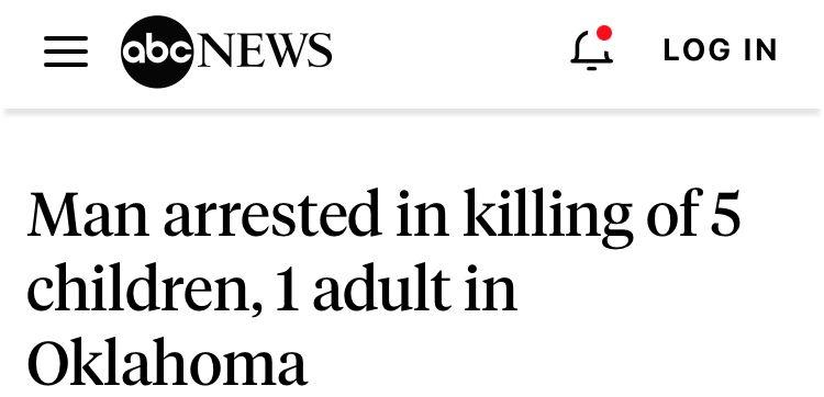 美国一收容所发生枪击事件,6人死亡包括5名儿童