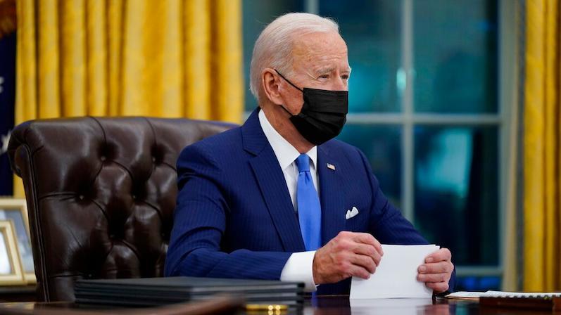 美国总统拜登签署3项有关移民政策的行政令