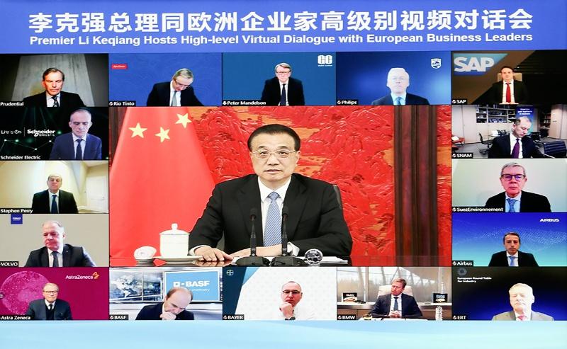 李克强:中国的宏观政策制定实施稳住了经济基本盘图片