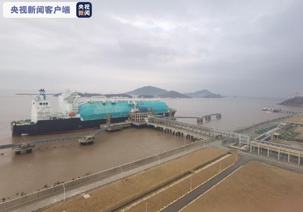 上海洋山港LNG码头天然气同期接卸量创下历史新高