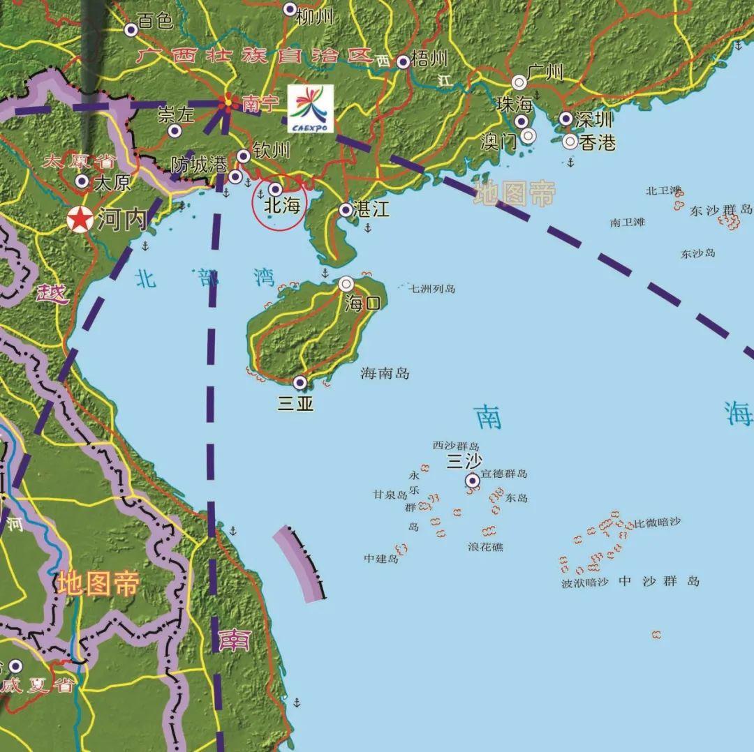 历史 | 明明靠近南海,为何叫北海市?