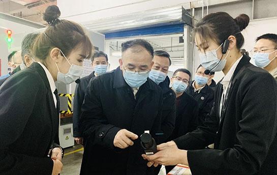 马军胜在京调研春节寄递服务保障工作图片