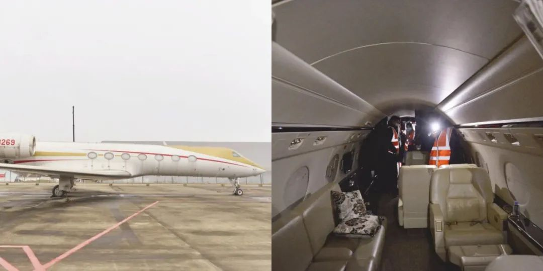 """""""私人飞机魔咒"""":甘肃前首富5亿豪华飞机将被拍卖图片"""
