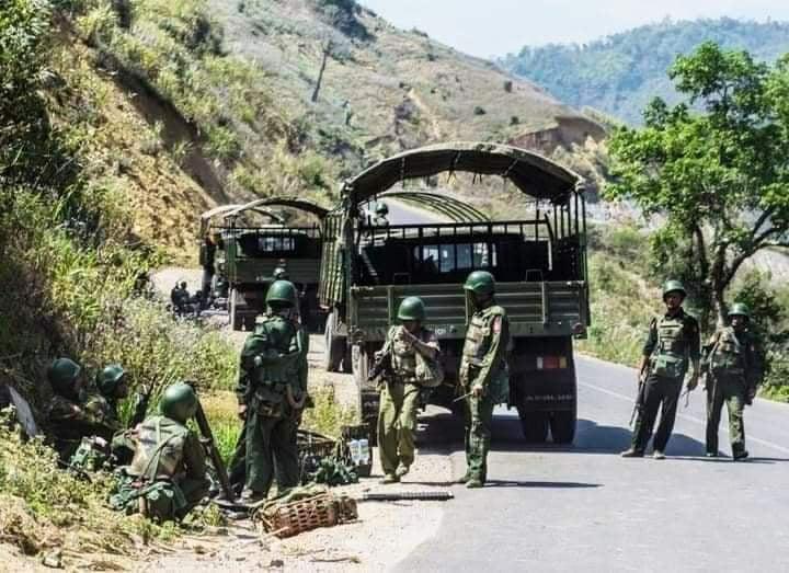 缅甸克钦独立武装与政府军持续发生冲突