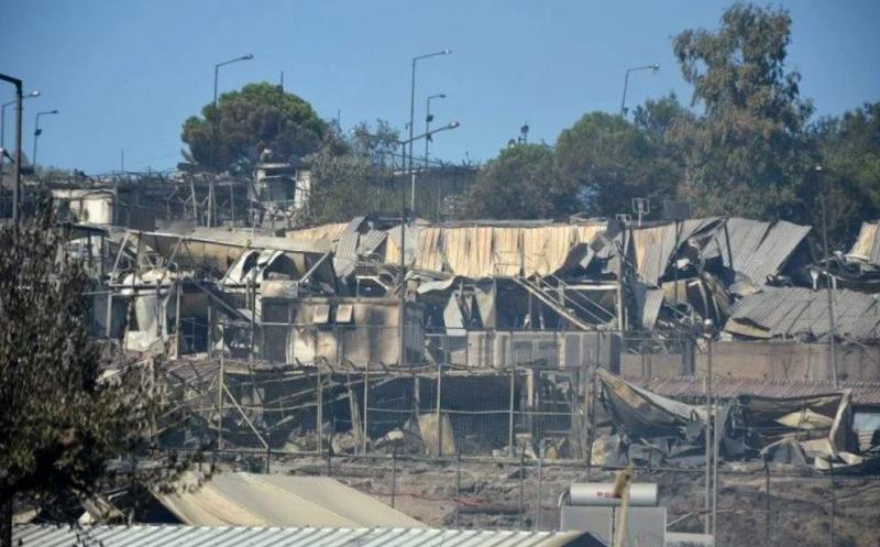 希腊莱斯沃斯岛莫利亚难民营大火参与纵火者被判入狱