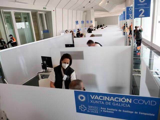 西班牙多个大区暂停阿斯利康新冠疫苗的接种