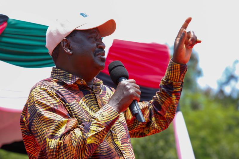 肯尼亚前总理奥廷加确诊新冠肺炎